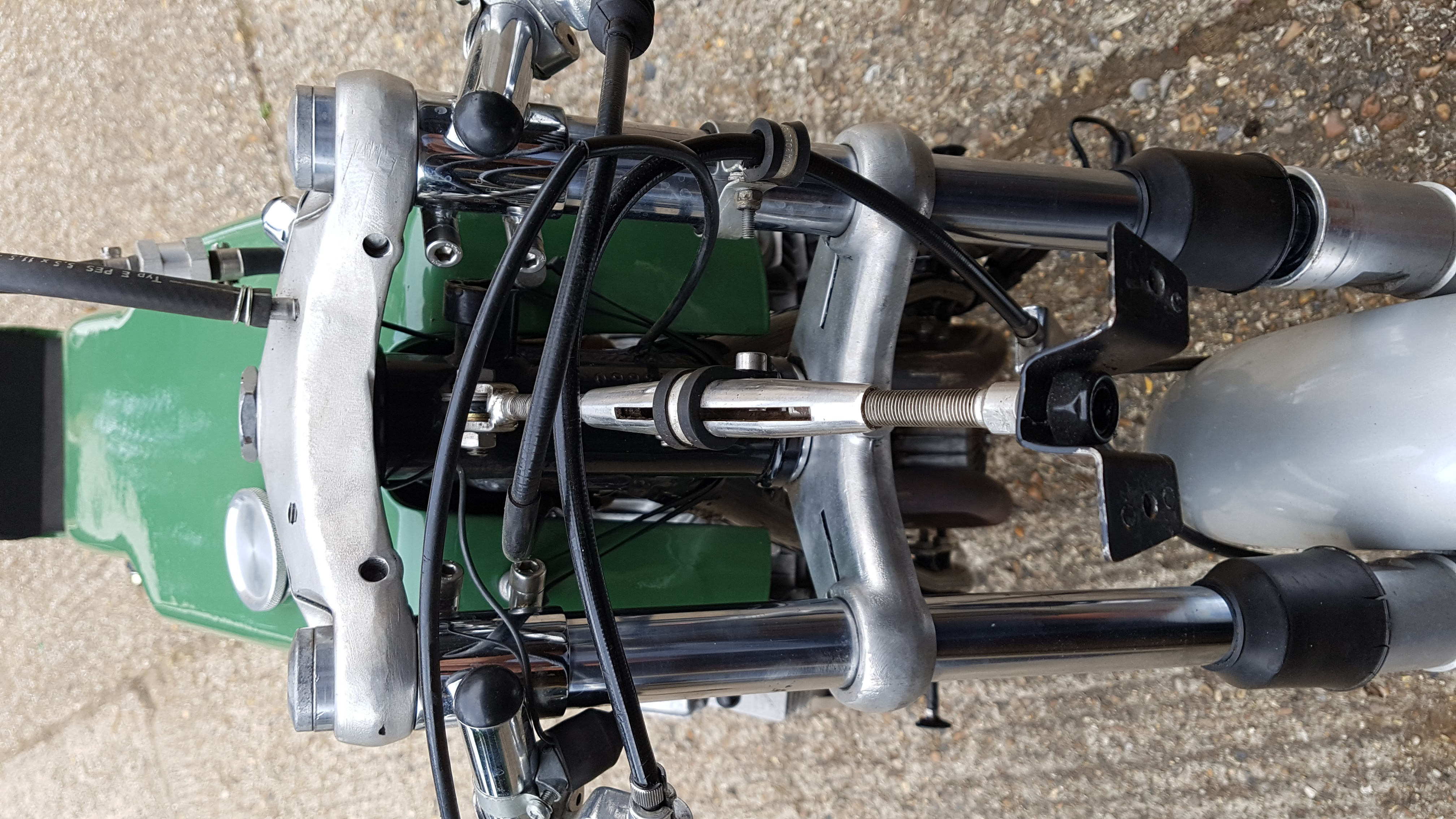 Benelli 500 Pasolini Replica. Ready to race, parade or ride on road. Mot & V5.-20170718_103058.jpg