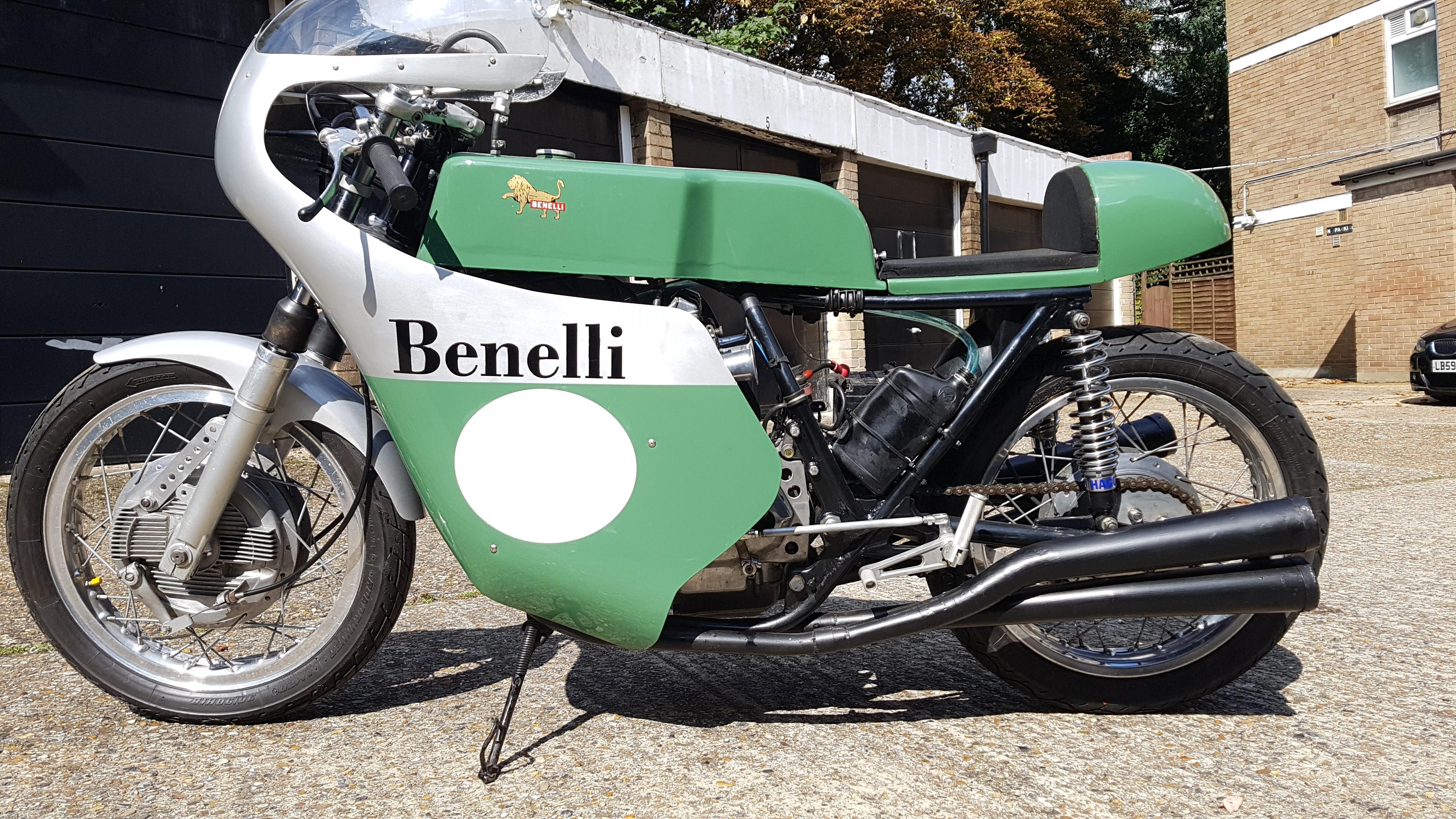 Benelli 500 Pasolini Replica. Ready to race, parade or ride on road. Mot & V5.-20170902_114159.jpg