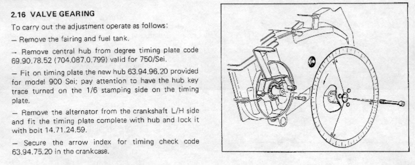 Benelli 900 SEI TIMING GEAR SET UP-cam-timing-1.jpg