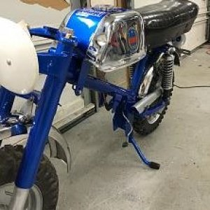 I have begun restoration of the Blue Dynamo.
